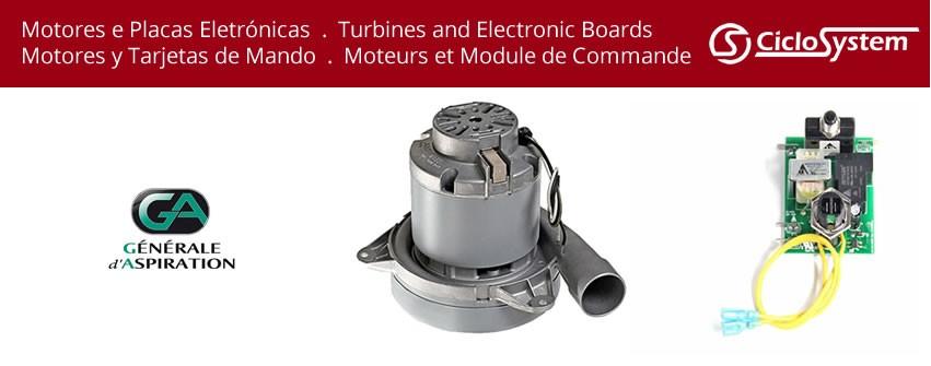 Motores e Placas Eletrónicas