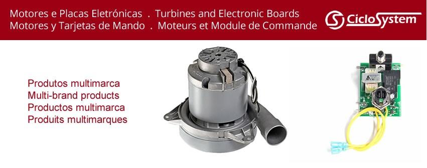 Motores e Placas Electrónicas