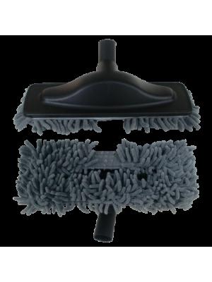 Escova Mopa Microfibra Aspiração Central | Cinzento