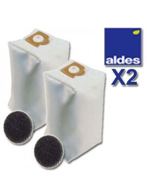 Aldes Kit Sacos 12L