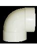 PVC curva 90º Curta